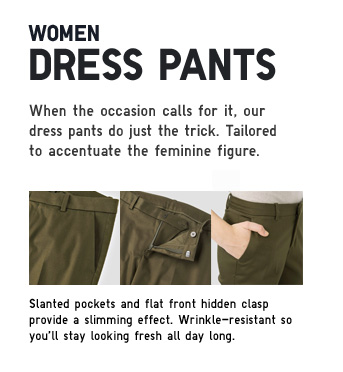 WOMEN DRESS PANTS