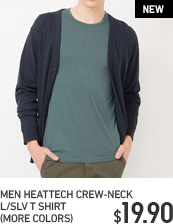 MEN CREW NECK HEATTECH