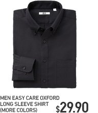 MEN EASY CARE OXFORD SHIRTS
