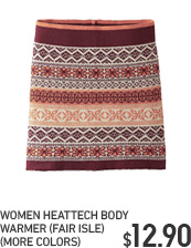 WOMEN HEATTECH BODY WARMER