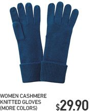 WOMEN CASHMERE GLOVES
