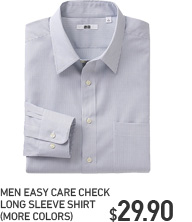 MEN EASY CARE CHECK SHIRT