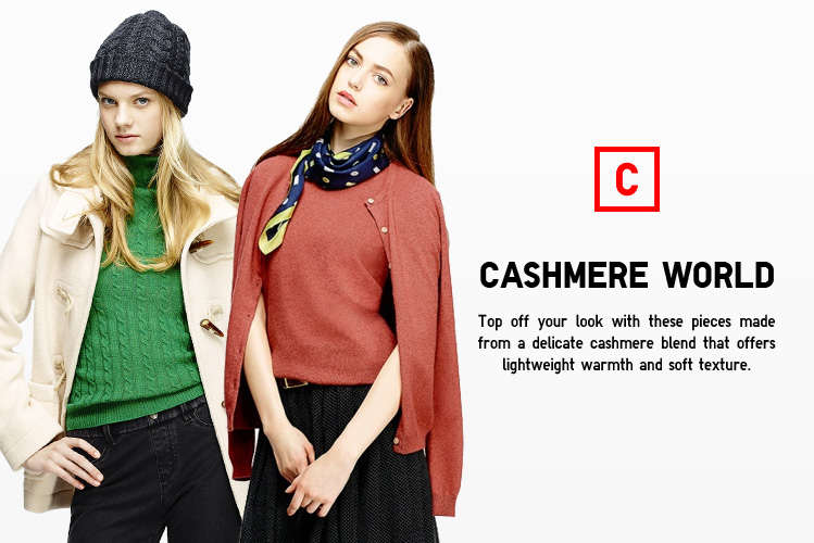 WOMEN CASHMERE WORLD