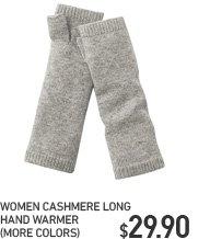 WOMEN CASHMERE HAND WARMER