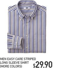 MEN EASY CARE STRIPED SHIRT