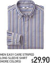 MEN EASY CARE STRIPED SHIRT