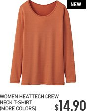 WOMEN CREW NECK HEATTECH