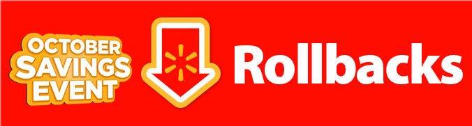 Shop all October Rollbacks