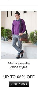 Men's Essential Office Styles