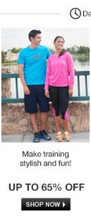 Make training stylish and fun!