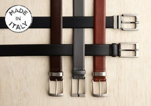 Made in Italy: J. Campbell Los Angeles Dress Belts