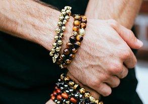 Shop Best Wood & Bead Bracelets from $8