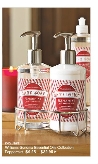 EXCLUSIVE - Williams-Sonoma Essential Oils Collection, Peppermint, $9.95 – $39.95