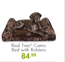 Real Tree(R) Camo Bed with Bolsters 84.99