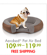 Aerobed(R) Pet Air Bed 109.99-119.99 FREE SHIPPING