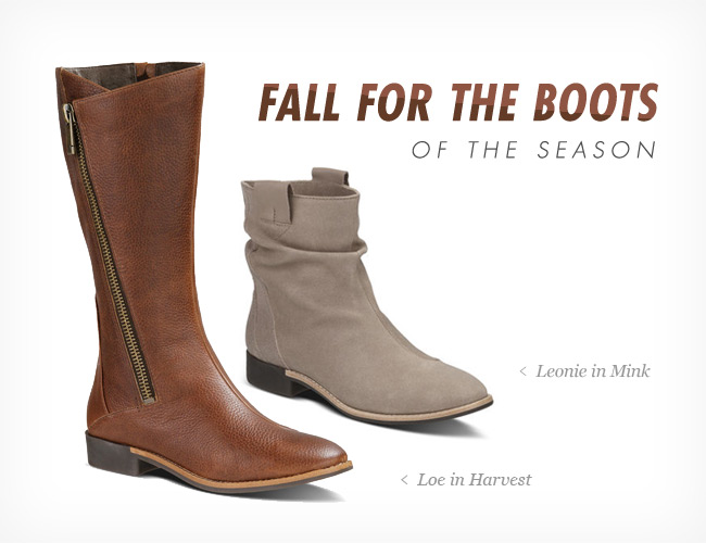 FALL FOR THE BOOTS OF THE SEASON