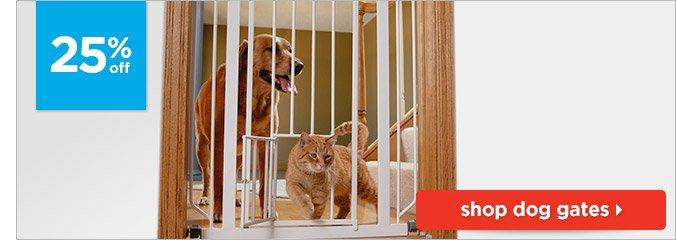 25% off dog gates