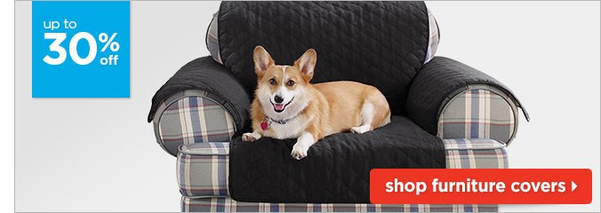 Up to 30% off furniture covers