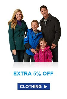Extra 5% Off | Clothing