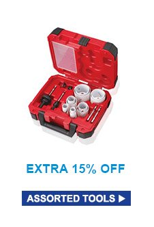 Extra 15% Off | Assorted Tools