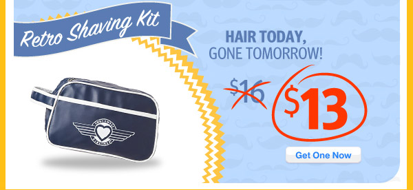 Retro Shaving Kit only $13. Get One Now!!
