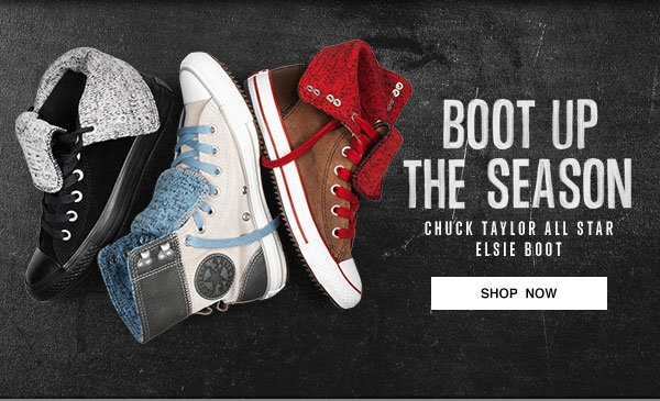 BOOT UP THE SEASON - CHUCK TAYLOR ALL STAR ELSIE BOOT