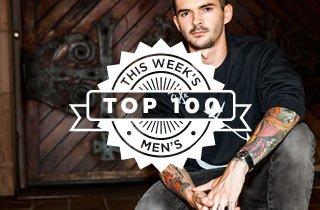 This Week's Top 100 Men's