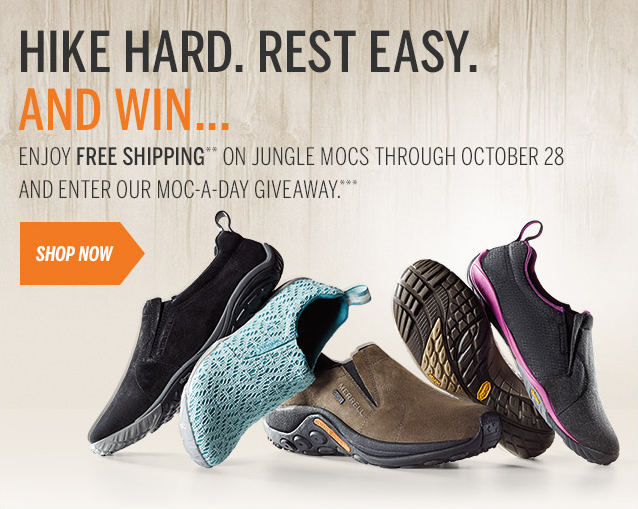 Free Shipping on Jungle Mocs through 10/28 + Giveaway