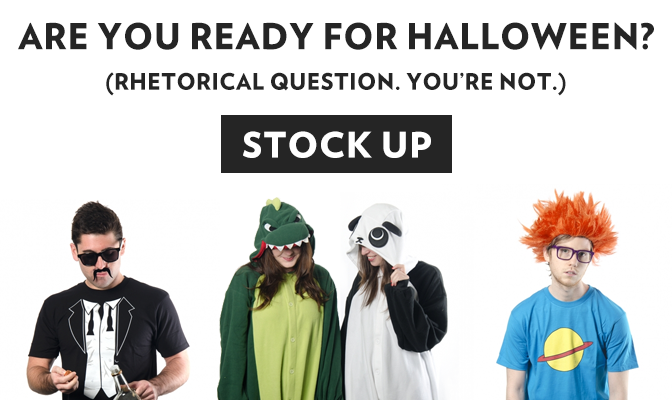Stock Up For Halloween!