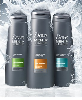 DOVE(R) MEN+CARE(TM) Advanced Hair Solutions