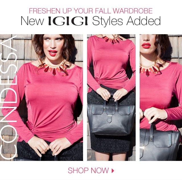 New Igigi Styles Added
