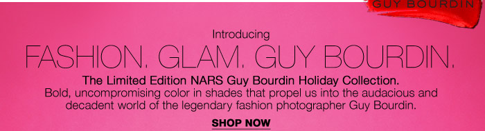 Introducing: Fashion. Glam. Guy Bourdin.
