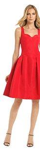 CAROLINA HERRERA - Red Metropolitan Club Dress