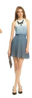ERIN BY ERIN FETHERSTON - Blue Sea Mist Dress