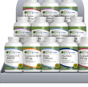 LuckyVitamin Supplement Selection
