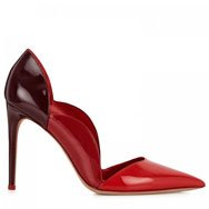 VALENTINO - Scalloped patent leather pumps