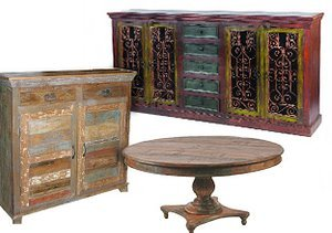 Eclectic & Intricate: Hand-Carved Furniture