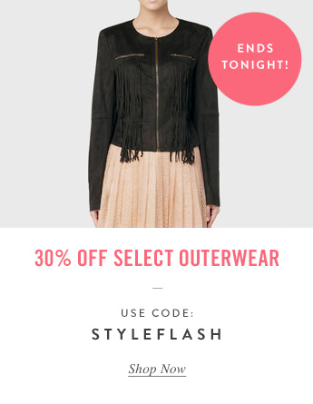 30% Off Select Outerwear