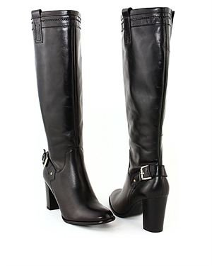 EYE Heel Leather Boots Made In Europe