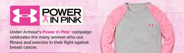 POWER IN PINK(R)