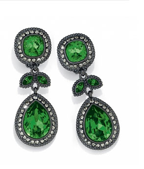 Raindrops Chandelier Clip earrings
