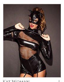 Kat Woman lingerie set - size L