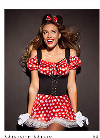Minnie Minx lingerie set