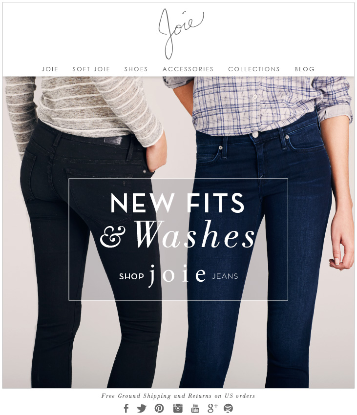 NEW FITS & Washes SHOP joie JEANS