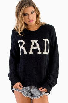 BE RAD KNITTED SWEATER 44