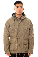 The Mountain Top Trip Parka in Light Army Beige