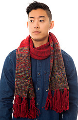 The Spalding Scarf in Beet