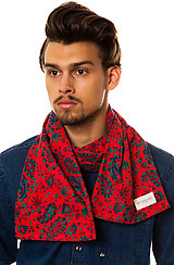 The Healer Scarf in Red