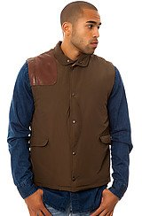 The 27 Nylon Ottoman Hunting Vest in Moss