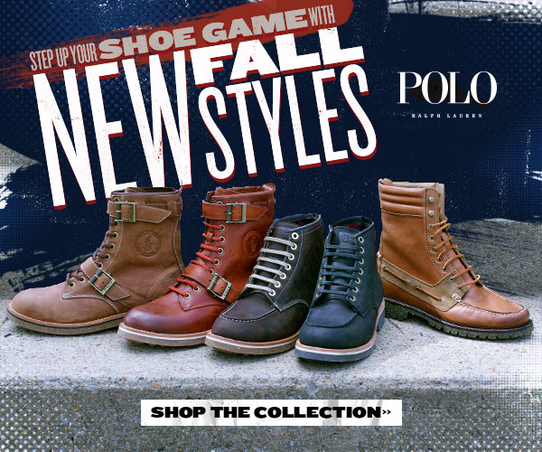 New Fall Polo Styles + Free Shipping